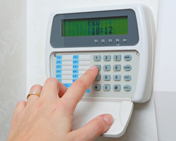 separate alarm code access for our cleaners